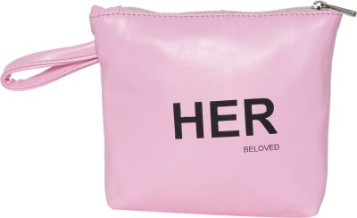Beloved Cosmetic Pouch Pink