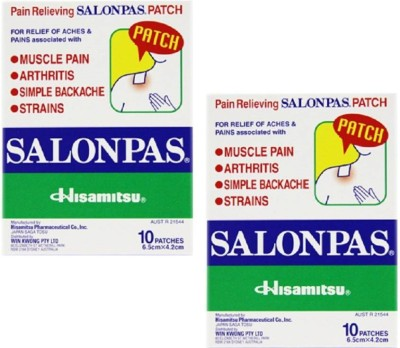 Salonpas Plaster Pain Relief Patch Plaster & Patch(10 g)