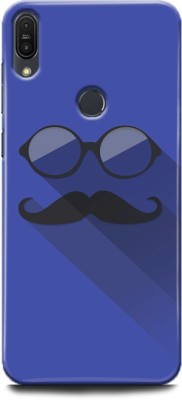 INDICRAFT Back Cover for Asus Zenfone Max Pro M1(Hipster, Indigo, Gray, Blue, Beard, Moustache, Goggle, Shock Proof)