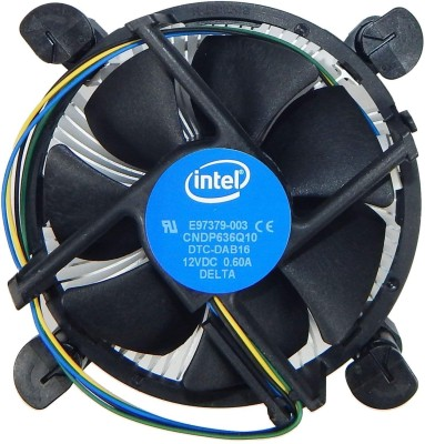 Intel Socket 775 cpu fan Cooler(Black)