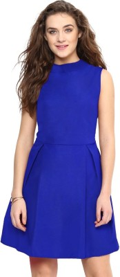 Uptownie Lite Women Fit and Flare Blue Dress