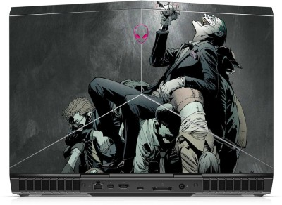 GADGETS WRAP Printed Gallery Comics Skin For Alienware 15 R3 Laptop (Top Only) Vinyl Laptop Decal 15.6