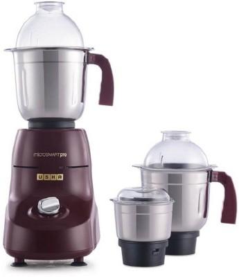 USHA 8968 MG 3773 750 Mixer Grinde 600 Mixer Grinder (3 Jars, Red)
