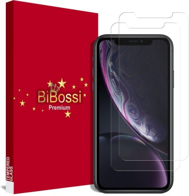 Bibossi Tempered Glass Guard for Apple iPhone XR(Pack of 2)