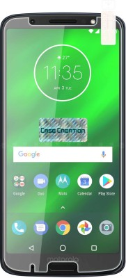 Case Creation Tempered Glass Guard for Motorola Moto G6 Plus 2018(Pack of 1)