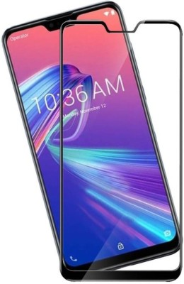 RidivishN Tempered Glass Guard for Asus Zenfone Max Pro M2, 2.5D Curved Glass(Pack of 1)