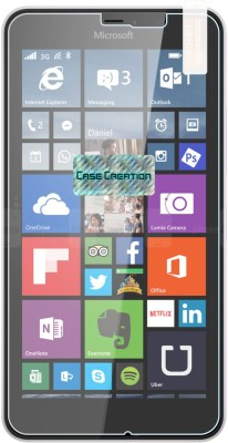 Case Creation Tempered Glass Guard for Nokia Lumia 640 XL 2015(Pack of 1)