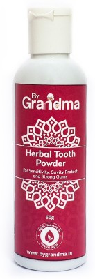ByGrandma Herbal Tooth Powder for Sensitivity, Cavity Protect and Strong Gums(60 g)