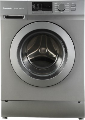 Panasonic 8 kg Fully Automatic Front Load Washing Machine Grey(NA-128XB1L01) (Panasonic)  Buy Online