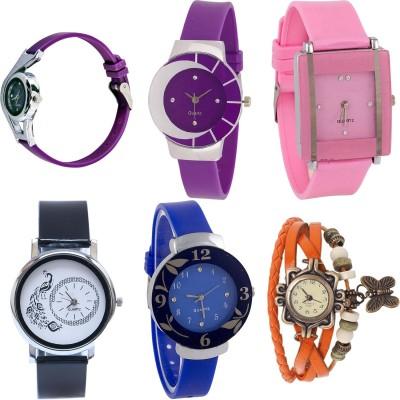 Felizer Combo offer Vintage - Set of 4 Watch  - For Women