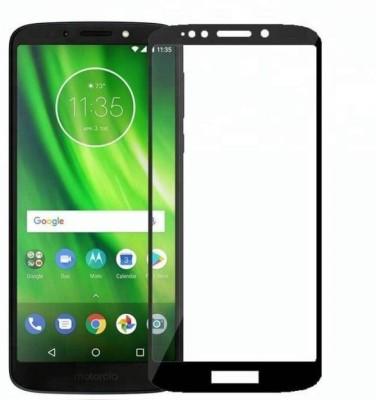 EASYBIZZ Edge To Edge Tempered Glass for Motorola Moto G6 Play(Pack of 1)