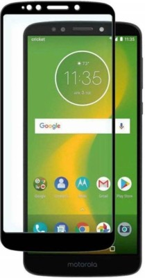 EASYBIZZ Edge To Edge Tempered Glass for Motorola Moto E5 Plus(Pack of 1)