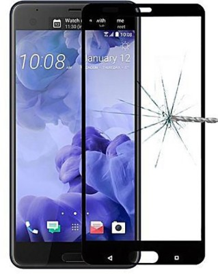 Tempered Glasses Edge To Edge Tempered Glass for Htc U Ultra 5D Tempered Glass(Pack of 1)