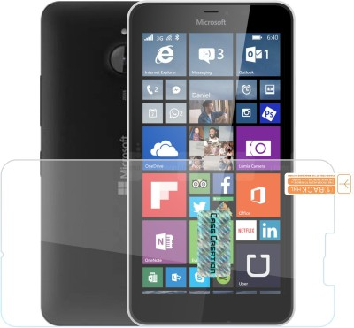 Case Creation Edge To Edge Tempered Glass for Nokia 640 XL 2015(Pack of 1)