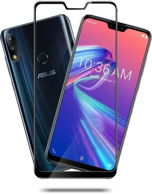 RidivishN Tempered Glass Guard for 2.5D Curved Glass, Asus Zenfone Max Pro M2(Pack of 1)