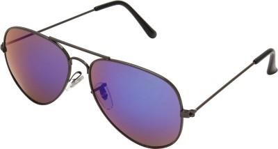 Abqa Aviator Sunglasses(Blue)
