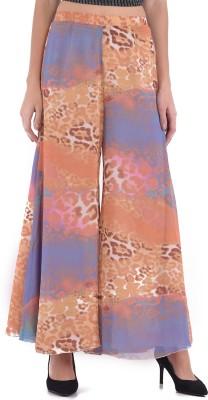 Trendy Divva Regular Fit Women Multicolor Trousers at flipkart