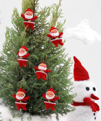 SkyAsia 3706W Hanging Ornaments Pack of 6