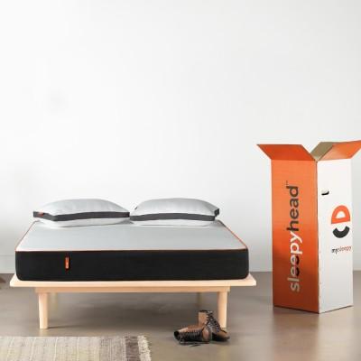 Sleepyhead Orthopedic Memory Foam 6 inch Double High Density (HD) Foam Mattress(Vacuum Packed)