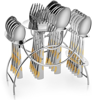 Shapes Arena with gift box Stainless Steel Cutlery Set(Pack of 25) at flipkart