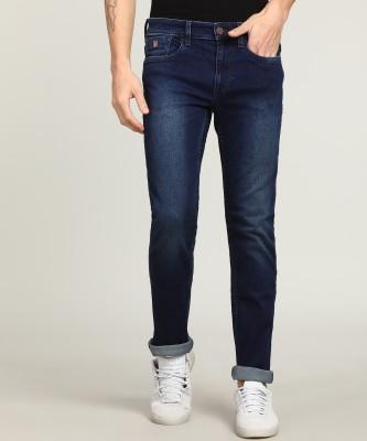 U.S. Polo Assn Skinny Men Dark Blue Jeans