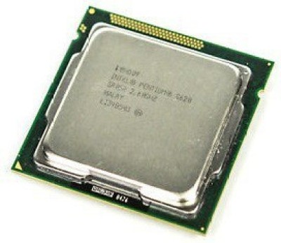Intel G620 2.6 GHz LGA 1155 Socket 2 Cores 2 Threads 3 MB Smart Cache Desktop Processor(GREY SILVER)