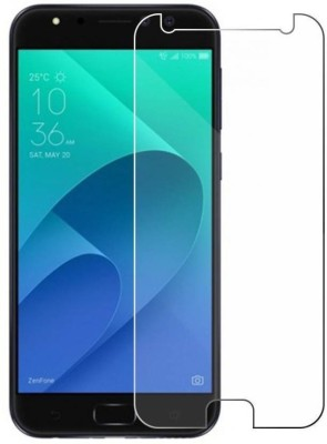 Tempered Glasses Edge To Edge Tempered Glass for Asus Zenfone 4 selfie Smart Screen Guard(Pack of 1)