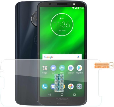 Case Creation Tempered Glass Guard for Moto G6 Plus 2018(Pack of 1)