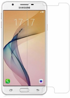 Tempered Glasses Edge To Edge Tempered Glass for Samsung J7 Max Air-bubble Proof(Pack of 1)