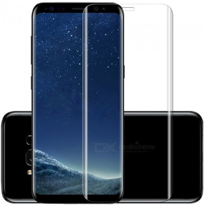 Tempered Glasses Impossible Screen Guard for Samsung S9 Plus 4D Screen Guard(Pack of 1)