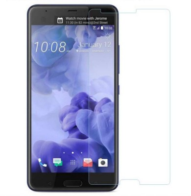 Tempered Glasses Edge To Edge Tempered Glass for Htc Desire 12 Air-bubble Proof(Pack of 1)