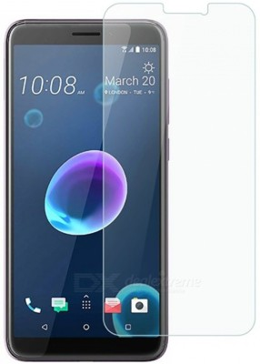 Tempered Glasses Edge To Edge Tempered Glass for Htc U Play Air-bubble Proof(Pack of 1)