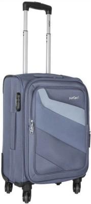Safari Relay Expandable Cabin Luggage   20 inch Grey