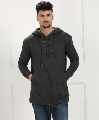 BRAVESOUL Full Sleeve Solid Men Sweatshirt at flipkart