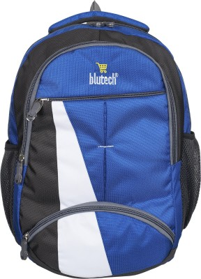 blutech Waterproof School 36 L Laptop Backpack Blue blutech Backpacks
