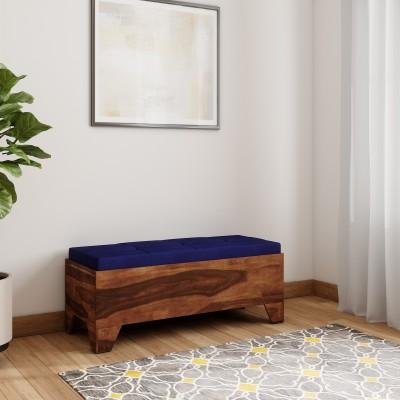 Vintej Home Sheesham Wood Solid Wood 2 Seater(Finish Color - TEAK FINISH)