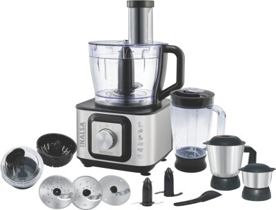 Inalsa Easy Prep 800 W Food Processor(Black)