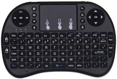 FU4 Mini Wireless 2.4G Keyboard Air Mouse with Touchpad Mouse mini wireless keyboard FOR COMPUTER LAPTOP  Black, White  Wireless Desktop Keyboard  Bla