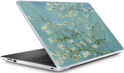 GADGETS WRAP Universal Vincent Van Gogh s Turquoise Blue Almond Skin For 15.6 Inch Laptop (15x10 inch) Vinyl Laptop Decal 15.6