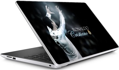GADGETS WRAP Universal SD Cristiano Ronaldo 5 1 Skin For 15.6 Inch Laptop (15x10 inch) Vinyl Laptop Decal 15.6