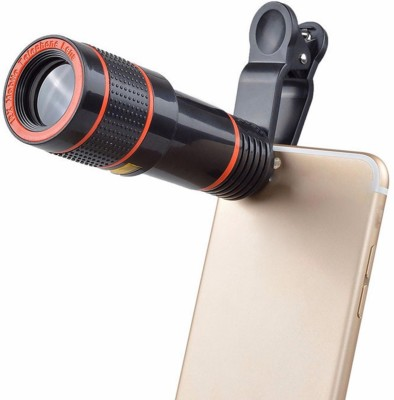 stylin Universal 8X Zoom Telescope Camera + Adjustable Holder Mobile Phone Lens(Telephoto)
