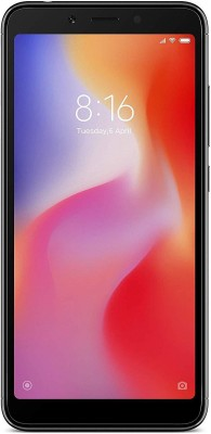 Redmi 6A (Black, 16 GB)(2 GB RAM)