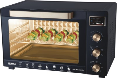 Inalsa Kwik Bake 30DTRC 30 Lts Oven Toaster Grill Black
