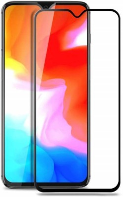 Karpine Edge To Edge Tempered Glass for OnePlus 6T(Pack of 1)