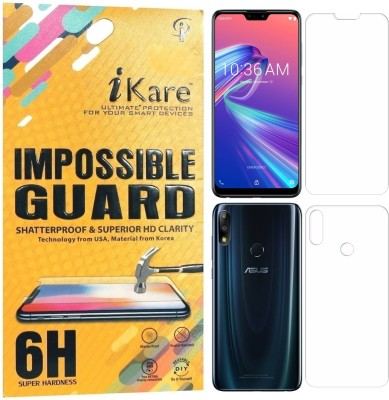 iKare Front and Back Screen Guard for Asus Zenfone Max Pro M2
