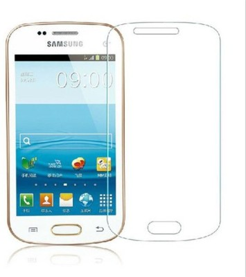 Roxel Nano Glass for Samsung Galaxy S Duos GT-S7562 (Pure White)(Pack of 2)