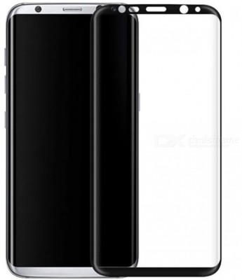 Tempered Glasses Edge To Edge Tempered Glass for Samsung S8 Plus 4D Screen Guard(Pack of 1)