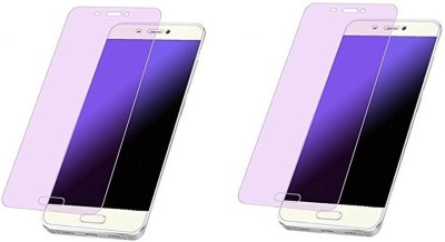HRV Tempered Glass Guard for Oppo F1S [ PACK OF 2 ] GOLDEN Series Anti-Blue Ray Tempered Glass Screen Guard(Pack of 2)
