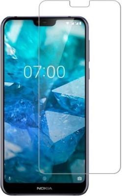 NKCASE Tempered Glass Guard for Nokia 6.1 Plus(Pack of 1)
