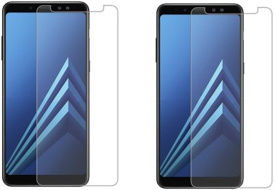 HRV Tempered Glass Guard for Samsung Galaxy A8 Star [ PACK OF 2 ] Premium Quality Flexible Tempered Glass with 9H Hardness(Pack of 2)